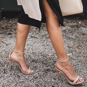 Mossimo Nude Stiletto Sandals